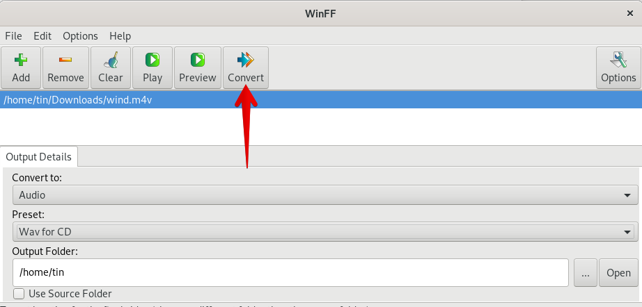 How to Convert M4V to WAV Format in Debian