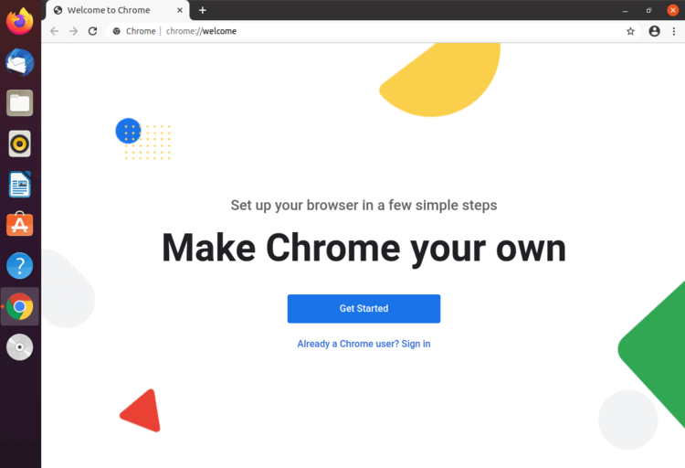Chromium can be used