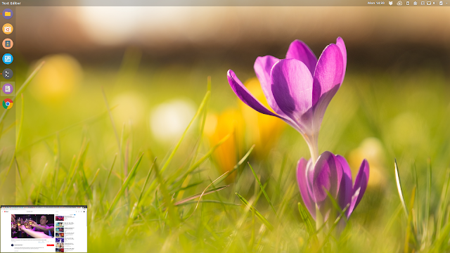 Real-time preview window gnome shell