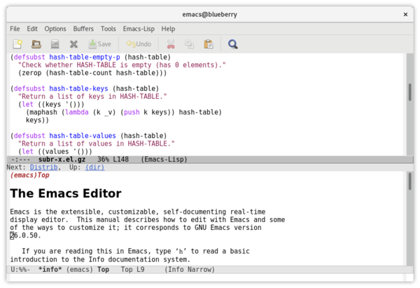 GNU Emacs 27.1 released with native JSON parsing support
