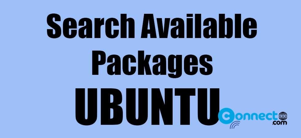 How to find available packages from the command line tool in the terminal
