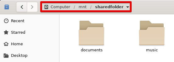 Installed Share in File Explorer