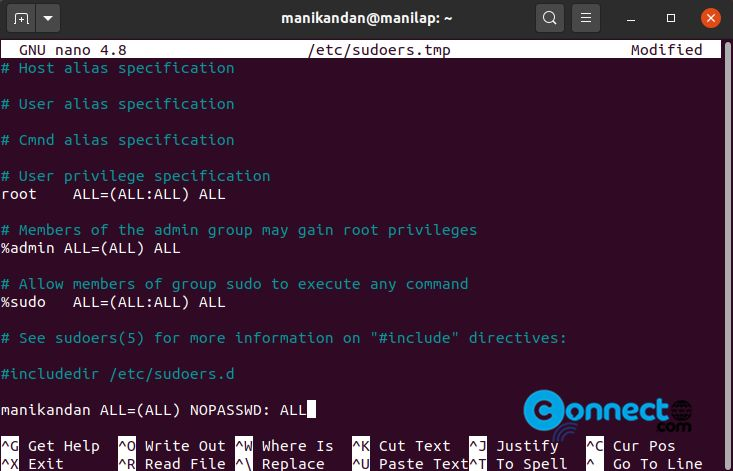 How to Run Sudo Command without a Password on Ubuntu Linux