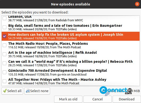 How to install gPodder Podcast Client on Ubuntu