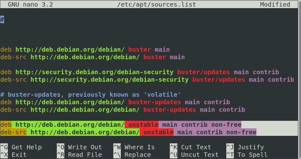 How to use apt to install programs from the command line on Debian