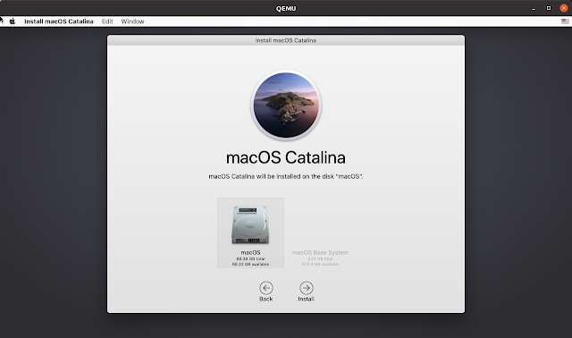 macOS installed on disk