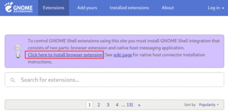 CPUPower – Gnome extension to set CPU frequency scaling