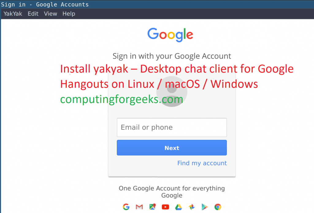 Install Google Hangouts client on CentOS 8