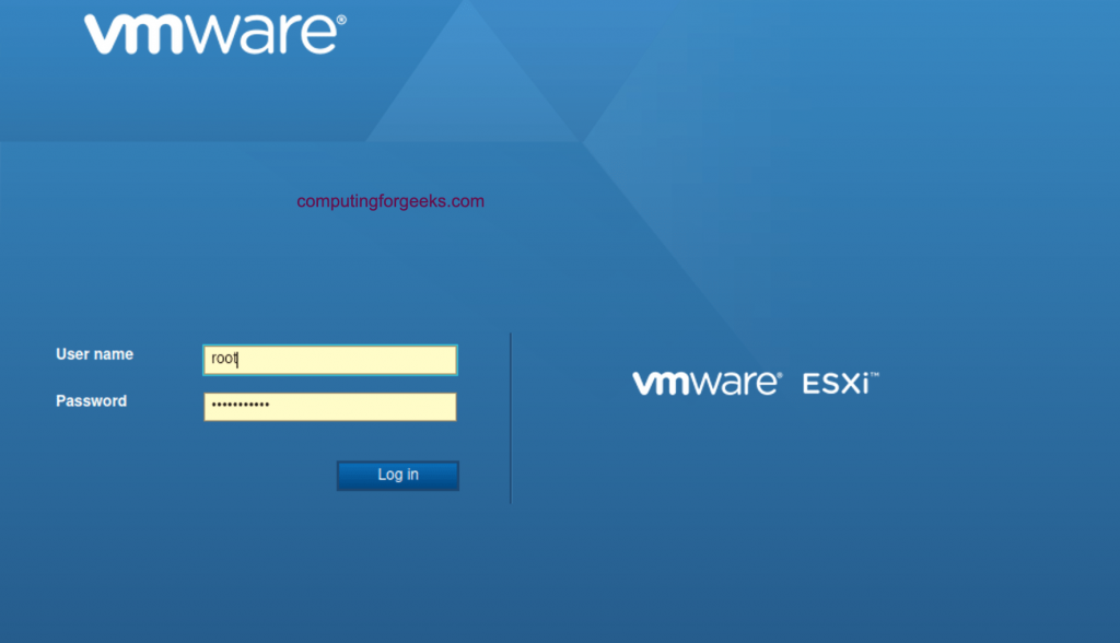 How to install vSphere ESXi 7.0 on a bare metal server