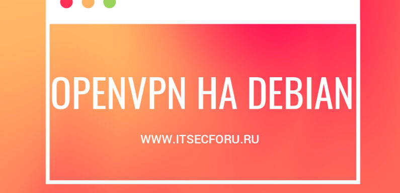 🖧 How to install and connect OpenVPN client on Debian