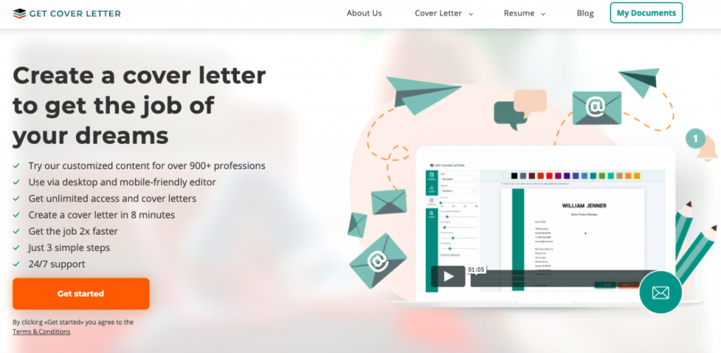 GetCoverLetter.com review: my first experience with an online generator