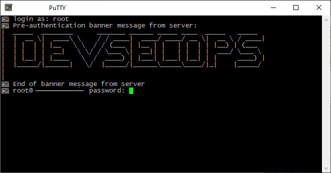 🕵️♂️ How to display banner / message before OpenSSH authentication