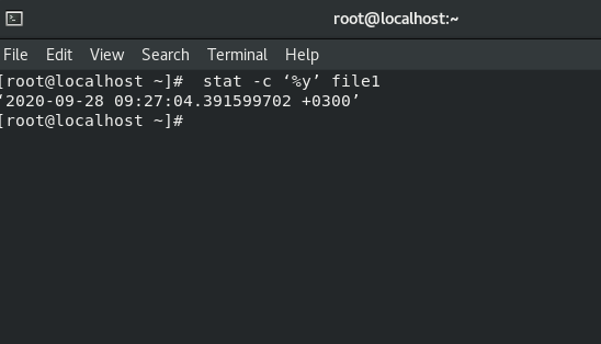 🐧 How to find out the date the file was last modified on Linux