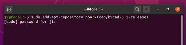 How to install the latest KiCad on Ubuntu 20.04, 20.10. [New Official PPA]