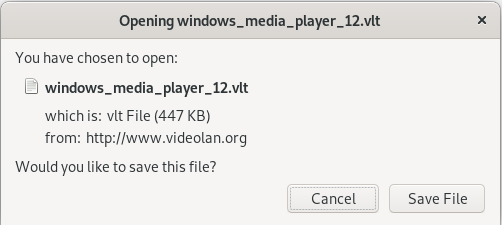 Download vlt file