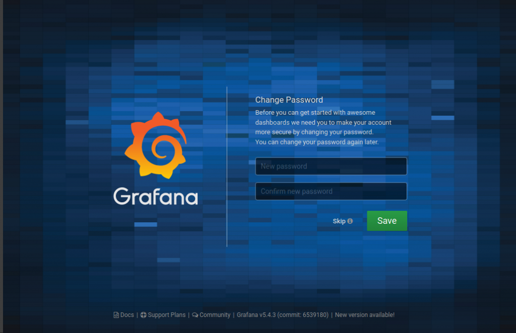 Install Grafana on Kubernetes for cluster monitoring
