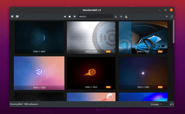 Wonderwall – Wallaper Manager with a huge collection of wallpapers