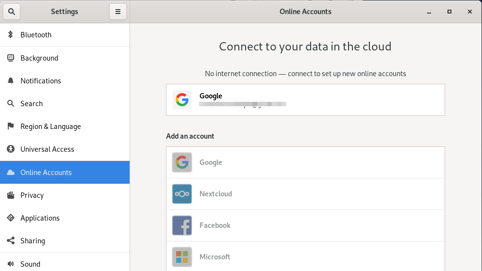 Connect to Google