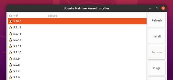 How to install Linux kernel 5.10LTS on Ubuntu / Linux Mint