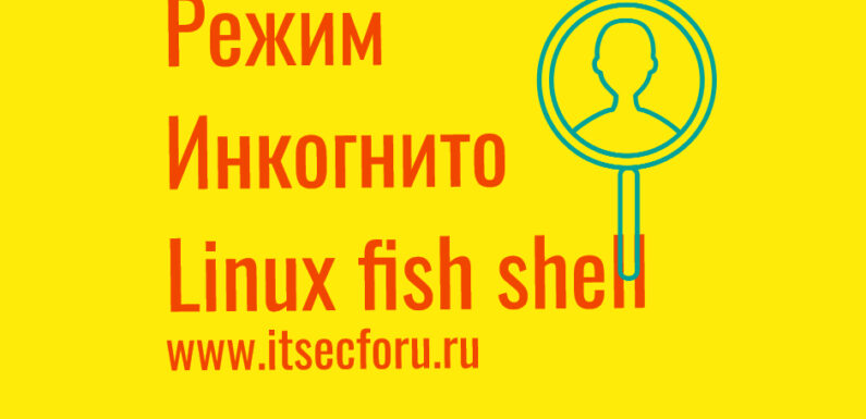 🐧 How to run Fish Shell in private mode on Linux