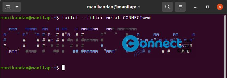 Create ASCII text banners in terminals using FIGlet and TOIlet