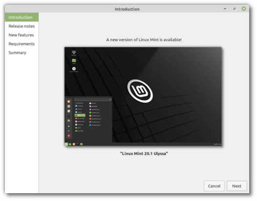 """Linux Mint 20.1 """"Ulyssa"""" officially released [How to Upgrade]"""