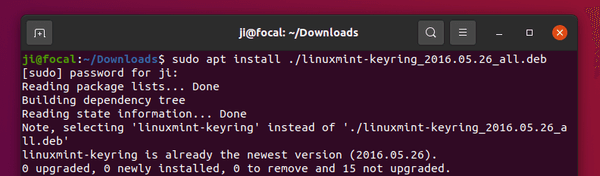 How to install Linux Mint Web App Manager on Ubuntu 20.04