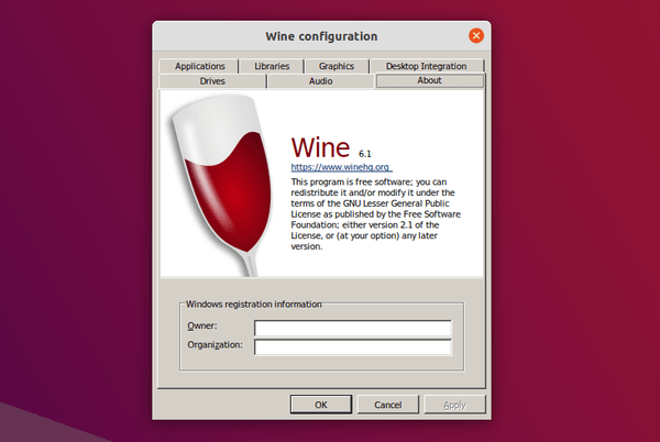 Wine 6.1 released as a new development version [How to Install]