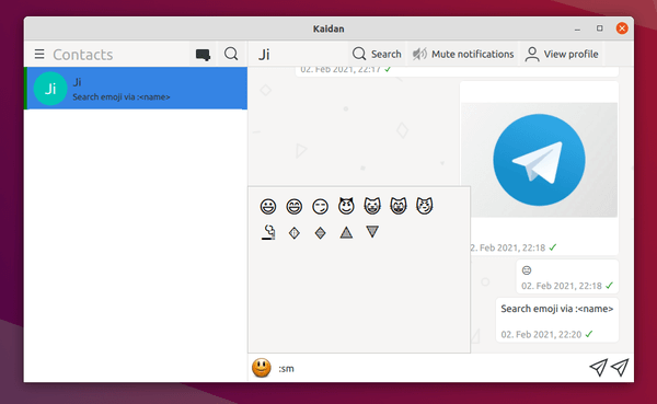 "Jabber / XMPP client ""Kaidan"" 0.7.0 released with new features"