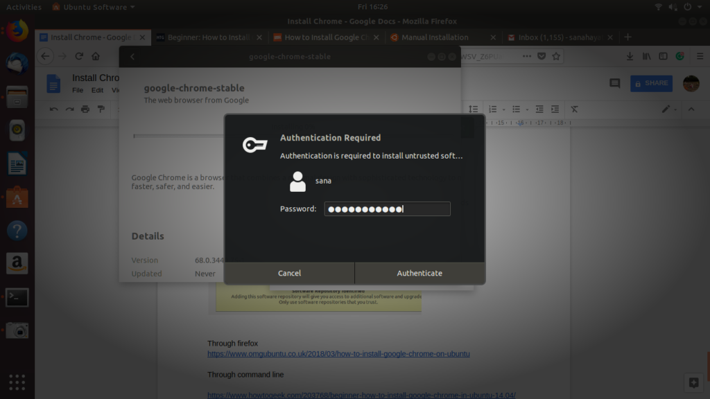 Log in as a system administrator