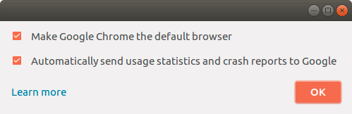 Do you want to make Chrome your default browser?