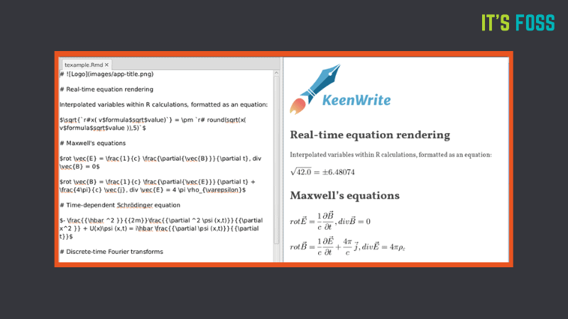 KeenWrite: An open source text editor for data scientists and mathematicians