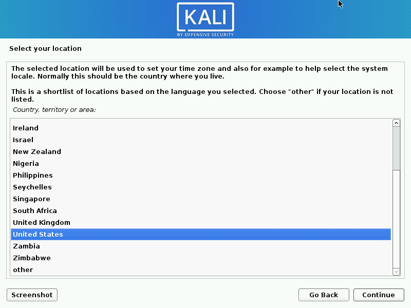 Install kali linux complete step 03