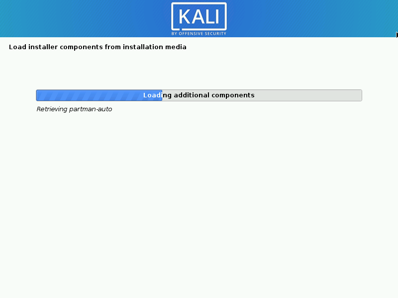 Install kali linux complete step 05