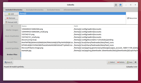 Czkawka – Find and delete duplicate, empty and corrupted files on Linux