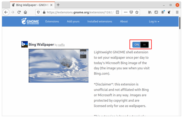 Automatically set daily images of Bing as wallpaper on Ubuntu 20.04