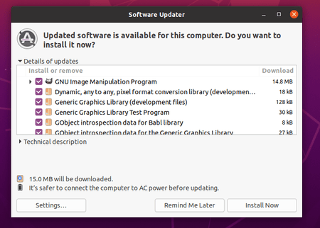 GIMP Image Editor 2.10.24 Can be installed on Ubuntu 20.04 or later