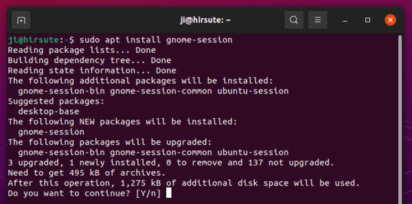 How to install Gnome40 on Ubuntu 21.04 (test only)