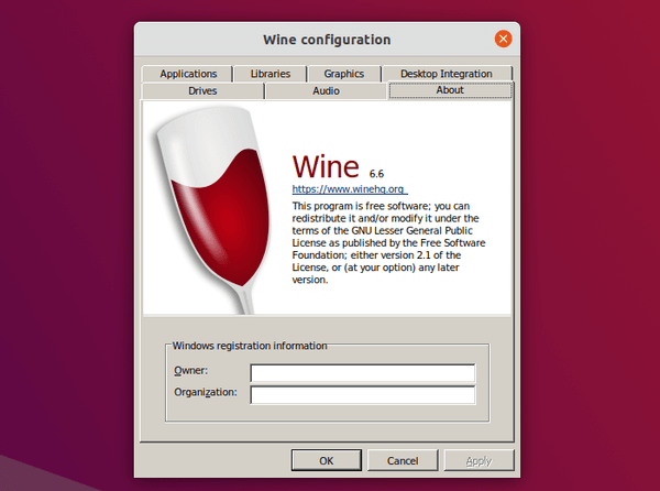 Wine 6.6 released with updated Mono, improved Plug and Play driver support