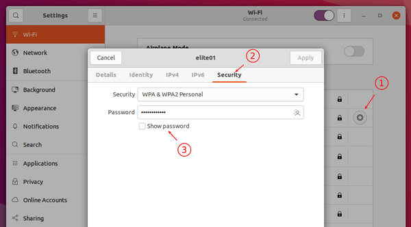3 ways to check your Wi-Fi password on Ubuntu