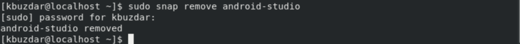 Removing Android Studio