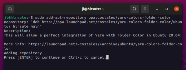 How to change the color of certain folder icons on Ubuntu 21.04/20.04