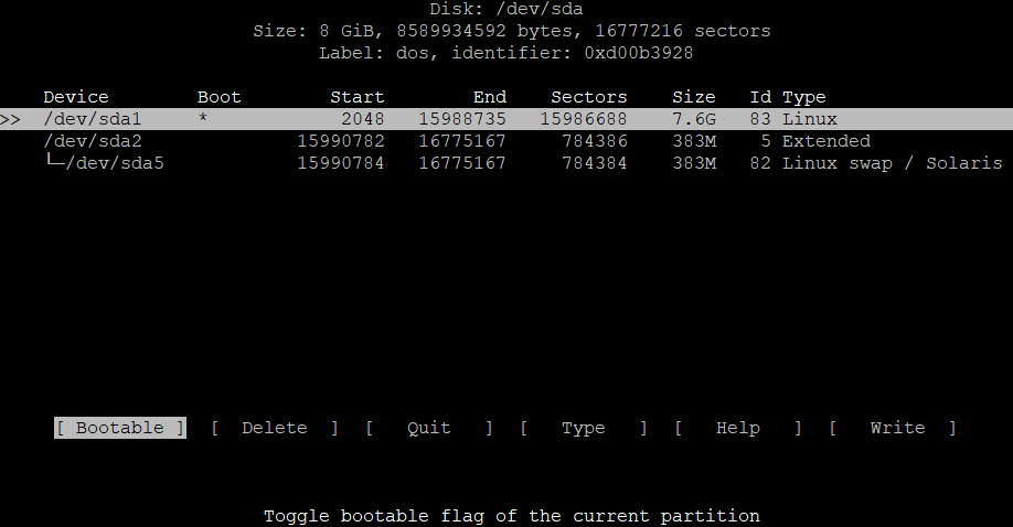 Extend the root partition (ext4, not LVM) of a disk in Debian 3