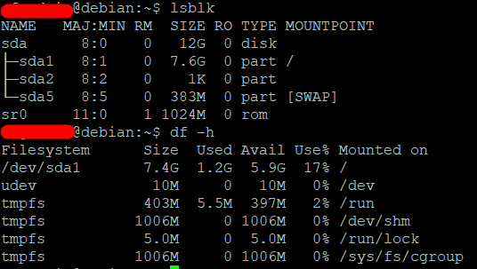 Extend the root partition (ext4, not LVM) of a disk in Debian 4