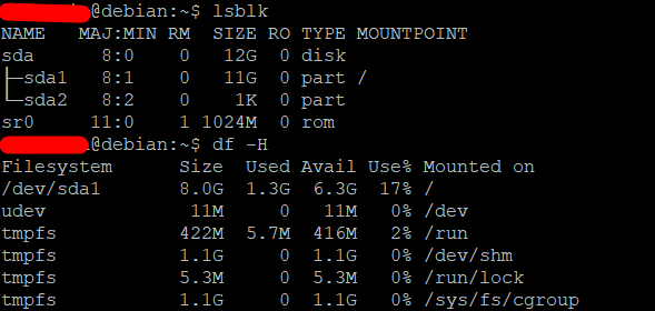 Extend the root partition (ext4, not LVM) of a disk in Debian 6