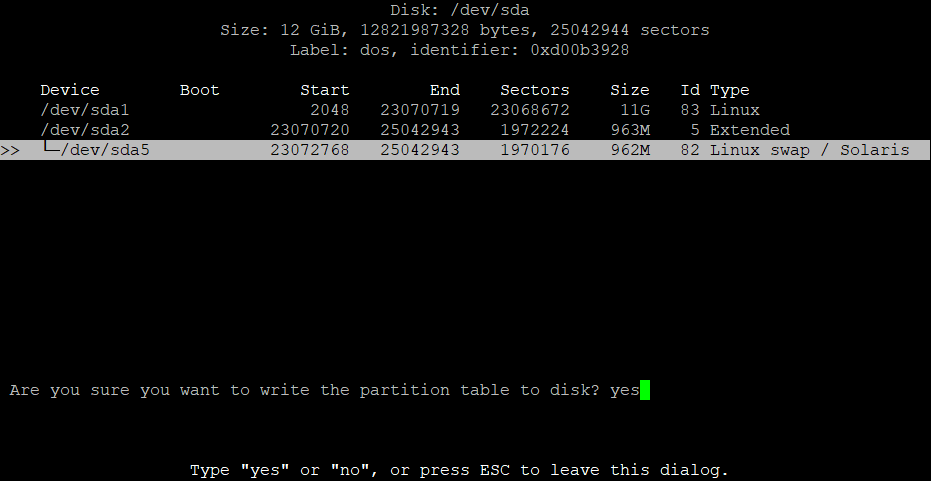 Extend the root partition (ext4, not LVM) of a disk in Debian 9