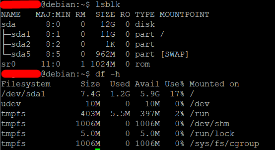Extend the root partition (ext4, not LVM) of a disk in Debian 10