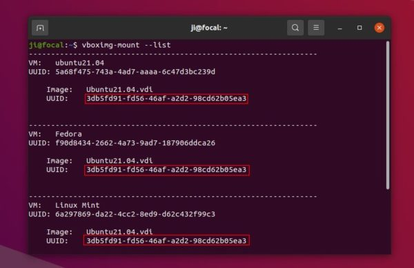 How to mount a VirtualBox disk image (VDI) to access a VM file system on Ubuntu